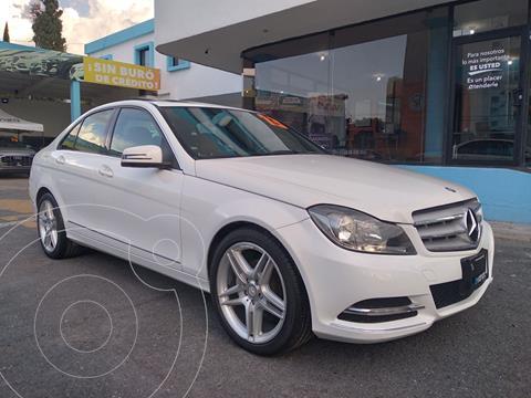 Mercedes Clase C 200 Sport usado (2013) color Blanco precio $235,000