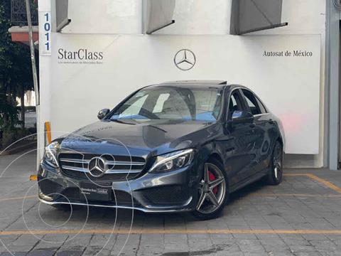 Mercedes Clase C 250 CGI Sport Aut usado (2016) color Gris precio $440,000