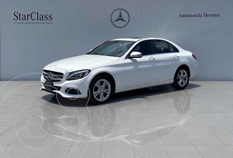 Mercedes Clase C 200 Exclusive Aut usado (2016) color Blanco precio $339,900