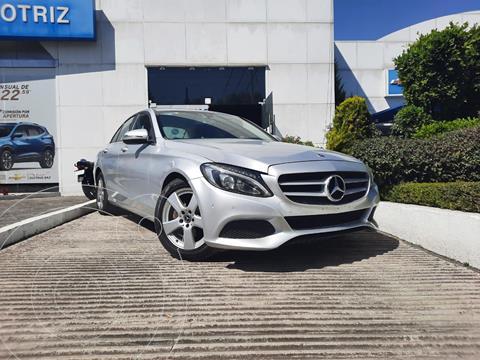Mercedes Clase C 180 Aut usado (2018) color Plata Dorado precio $360,000