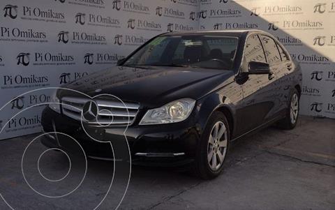 Mercedes Clase C 180 Aut usado (2014) color Negro precio $210,000
