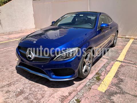 Mercedes Clase C 250 CGI Coupe Aut usado (2017) color Azul precio $450,000