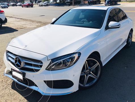 Mercedes Clase C 250 CGI Sport Aut usado (2018) color Blanco Diamante precio $470,000