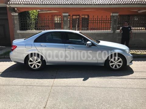 Mercedes Clase C 180 CGI Aut NAVI usado (2013) color Plata Paladio precio $170,000