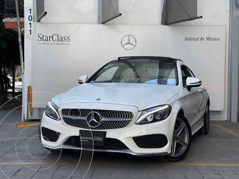 Mercedes Clase C 250 CGI Coupe Aut usado (2018) color Blanco precio $640,000