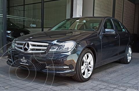 Mercedes Clase C 200 CGI Exclusive Plus Aut usado (2014) color Gris Oscuro precio $249,000