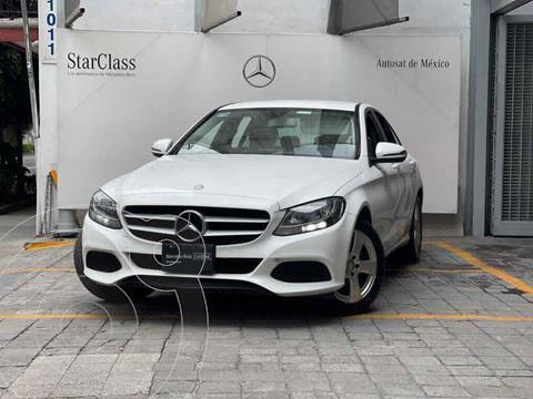 Mercedes Clase C 180 Aut usado (2016) color Blanco precio $340,000