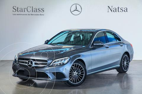 Mercedes Clase C 200 Sport usado (2018) color Gris precio $630,000