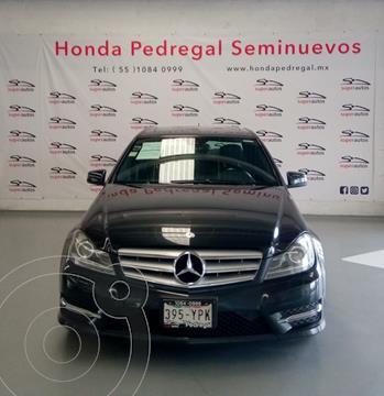 Mercedes Clase C 240 Elegance Aut usado (2012) color Gris precio $210,000