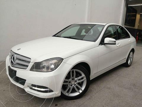 Mercedes Clase C 200 CGI Exclusive Aut usado (2013) color Blanco precio $210,000