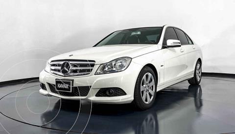Mercedes Clase C 180 CGI Aut usado (2012) color Blanco precio $182,999