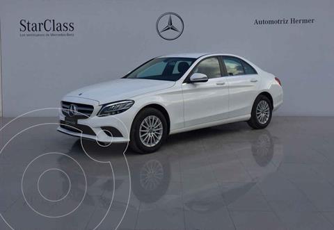Mercedes Clase C 200 Aut usado (2020) color Blanco precio $652,900