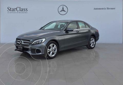 Mercedes Clase C 200 CGI Exclusive Aut usado (2018) color Gris precio $449,900