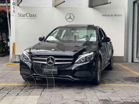 Mercedes Clase C 200 CGI Sport Aut usado (2016) color Negro precio $360,000
