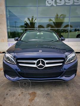Mercedes Clase C 200 CGI Sport Plus Aut usado (2018) color Azul Oscuro precio $449,000
