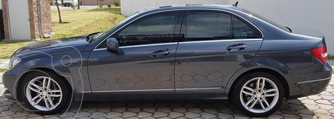 Mercedes Clase C 200 CGI Sport Aut usado (2013) color Gris precio $219,500