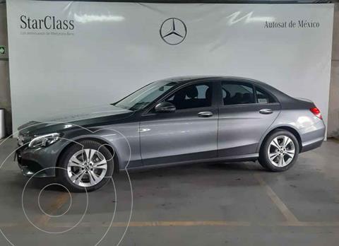 Mercedes Clase C 200 CGI Exclusive Aut usado (2018) color Gris precio $409,000