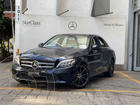 Mercedes Clase C 200 Aut usado (2019) color Azul precio $595,000