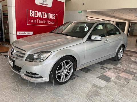 Mercedes Clase C 200 CGI Sport Aut usado (2013) color Plata precio $219,000