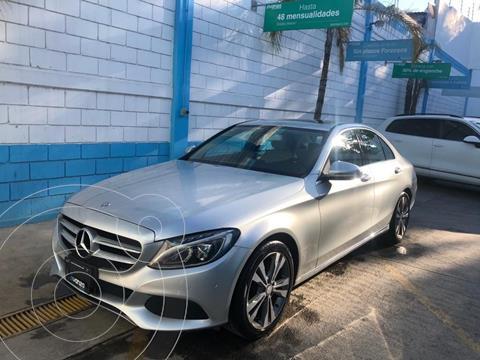 Mercedes Clase C 200 Coupe Aut usado (2017) color Plata Dorado precio $399,000