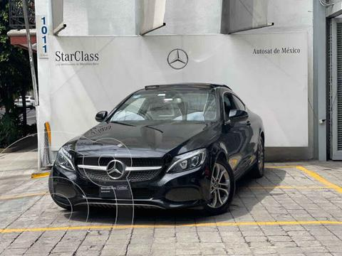 Mercedes Clase C 180 Coupe Aut  usado (2018) color Negro precio $555,000