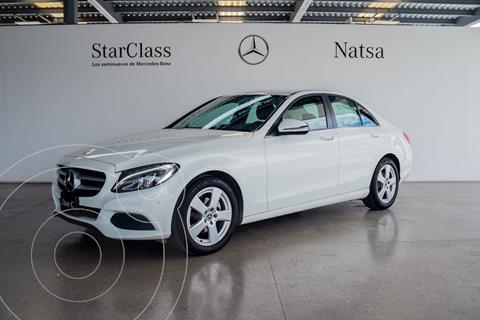 Mercedes Clase C 180 Aut usado (2018) color Blanco precio $480,000