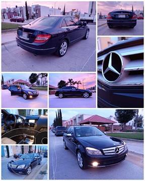 Mercedes Clase C 280 Sport Aut usado (2008) color Azul Metalizado precio $165,000