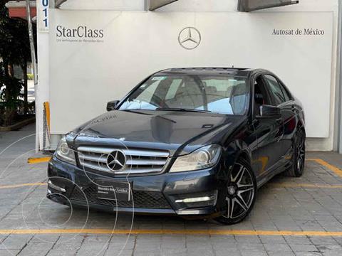 Mercedes Clase C 200 CGI Sport Plus Aut usado (2013) color Gris precio $250,000