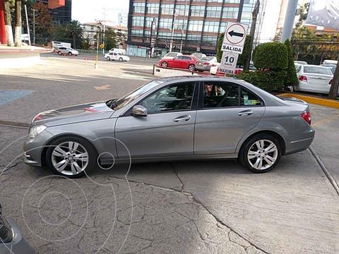 Mercedes Clase C 200 CGI Exclusive Aut usado (2013) color Plata precio $208,000