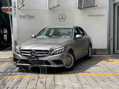 Mercedes Clase C 180 CGI Aut usado (2019) color Cafe precio $570,000
