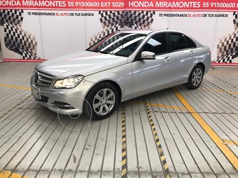 Mercedes Clase C 180 CGI Aut usado (2014) color Plata financiado en mensualidades(enganche $127,500 mensualidades desde $6,363)