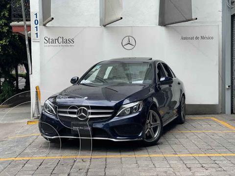 foto Mercedes Clase C Versión usado (2017) color Azul precio $460,000