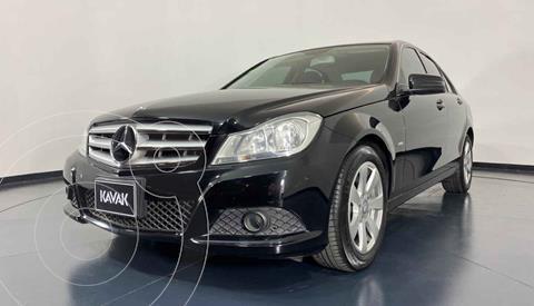 Mercedes Clase C 180 Aut usado (2015) color Negro precio $192,999