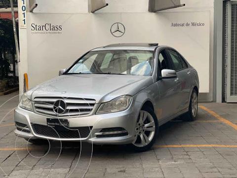 Mercedes Clase C 200 CGI Exclusive Aut usado (2013) color Plata precio $190,000