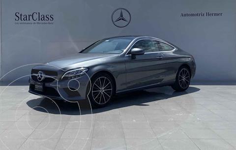 Mercedes Clase C 200 Coupe Aut usado (2020) color Gris precio $799,900