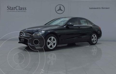 Mercedes Clase C 180 CGI usado (2017) color Negro precio $379,900