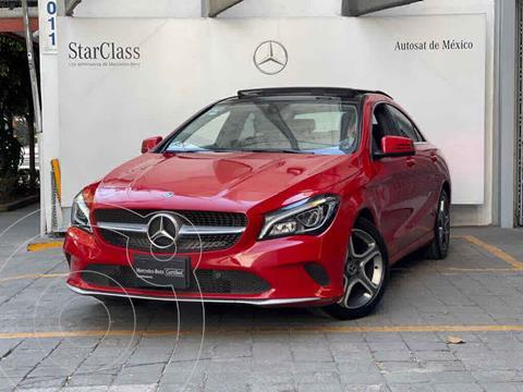 Mercedes Clase CLA 200 CGI Sport usado (2019) color Rojo precio $495,000