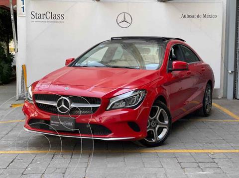 Mercedes Clase CLA 200 CGI Sport usado (2018) color Rojo precio $495,000