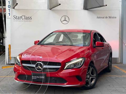 Mercedes Clase CLA 200 CGI Sport usado (2018) color Rojo precio $440,000