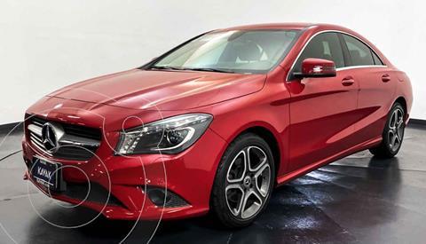 Mercedes Clase CLA 250 CGI Sport usado (2016) color Rojo precio $422,999