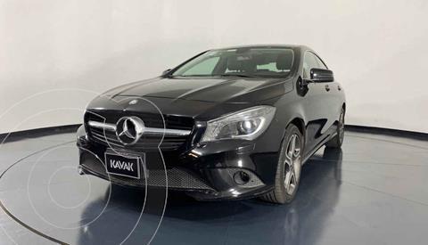 Mercedes Clase CLA 200 CGI Sport usado (2015) color Negro precio $319,999