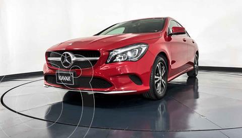 Mercedes Clase CLA 200 CGI usado (2017) color Rojo precio $397,999