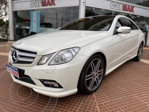 Mercedes Clase E 350 Sport Coupe usado (2010) color Blanco financiado en cuotas(anticipo $2.400.000)