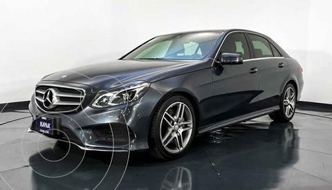 Mercedes Clase E 200 CGI Exclusive usado (2014) color Cafe precio $399,999