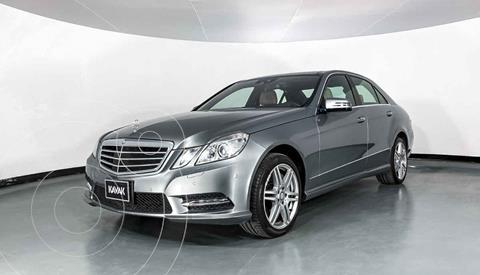 Mercedes Clase E 500 CGI Biturbo usado (2013) color Plata precio $422,999