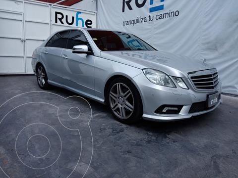Mercedes Clase E 350 Elegance usado (2011) color Plata Dorado precio $270,000