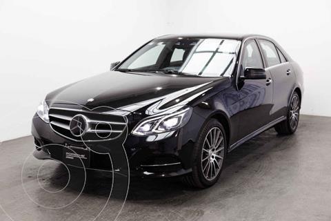 Mercedes Clase E 500 CGI Guard usado (2014) color Negro precio $810,000
