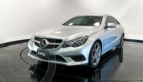 Mercedes Clase E Coupe 400 CGI usado (2016) color Plata precio $362,999