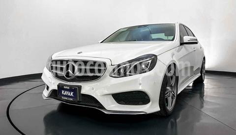 Mercedes Clase E 400 CGI Sport usado (2014) color Blanco precio $349,999
