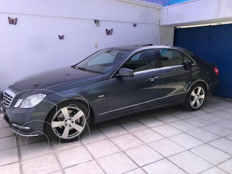 Mercedes Clase E 250 Avantgarde usado (2012) color Gris precio $225,000